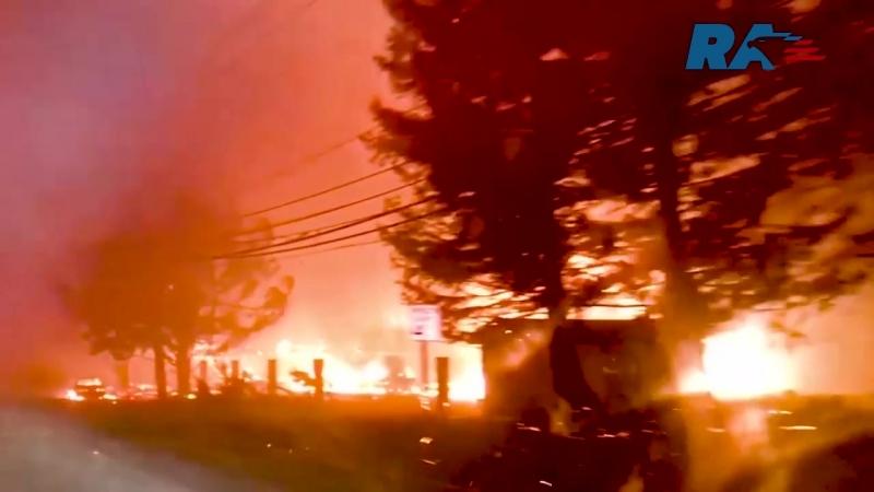 Лесные пожары уничтожают национальный парк Йосемити