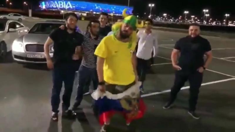 Приключения бразильского болельщика в России - все видео с весёлым бразильцем - «рассия а-уяна»