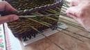 Новая загибка для корзиночки Плетение из газетных трубочек