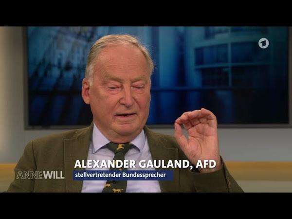Guter Nachbar schlechter Nachbar Alexander Gauland AfD 05 06 2016 Anne Will Bananenrepublik