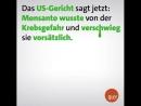 Bayer hat Anfang des Jahres den Glyphosathersteller Monsanto übernommen