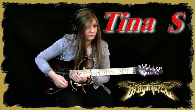 Tina S - Through The Fire And Flames (DragonForce cover)