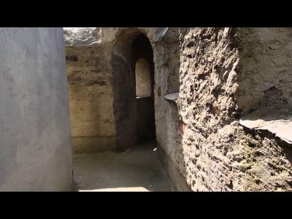 ナッサウ城 ベルクフリート内部 Burg Nassau Bergfried P4251968