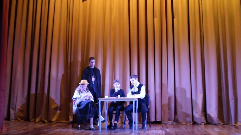 Сцена из комедии Д.И.Фонвизина Недоросль. 8а класс