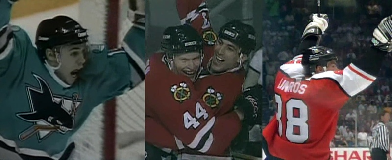1995 Stanley Cup Playoffs - Overtime Goals