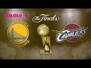 NBA Finals  Golden State Warriors vs Cleveland Cavaliers  Game 4  June 8,  2018