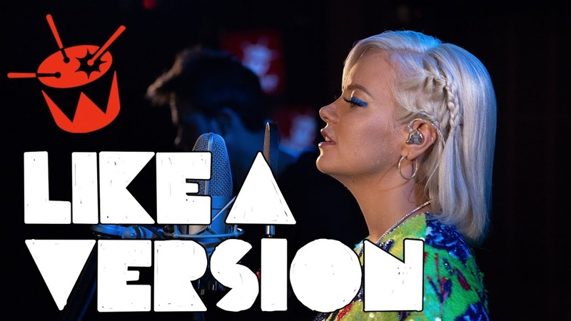 Lily Allen covers Lykke Li deep end for Like A Version