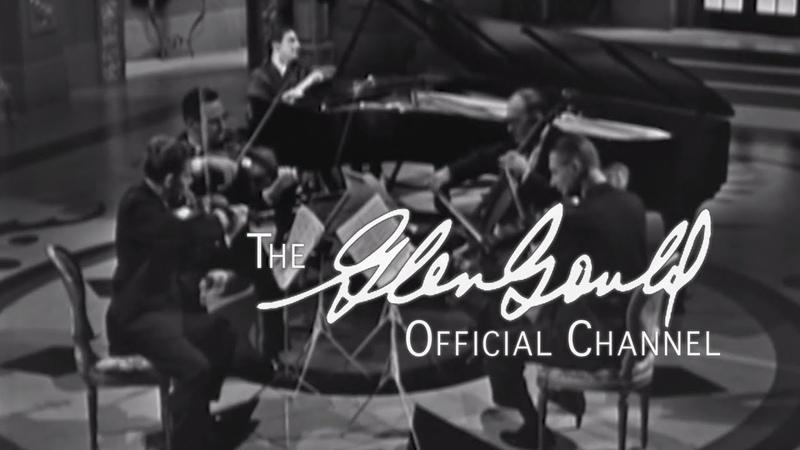 Glenn Gould - Shostakovich, Quintet for Piano Strings in G-minor: II Fuga. Adagio (OFFICIAL)