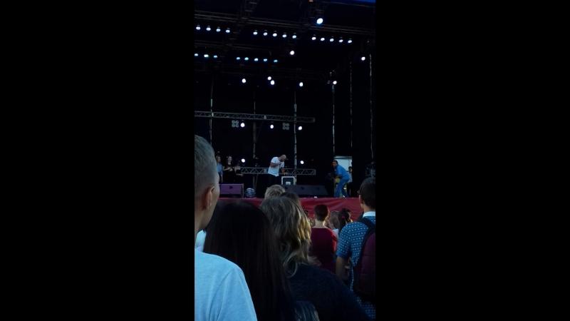 Концерт ко дню строителя 11 08 18✌🎈😊Луганск Вахтанг
