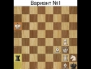 ♚ ШАХ И МАТ ♚✔ Нестандартная шахматная задачка