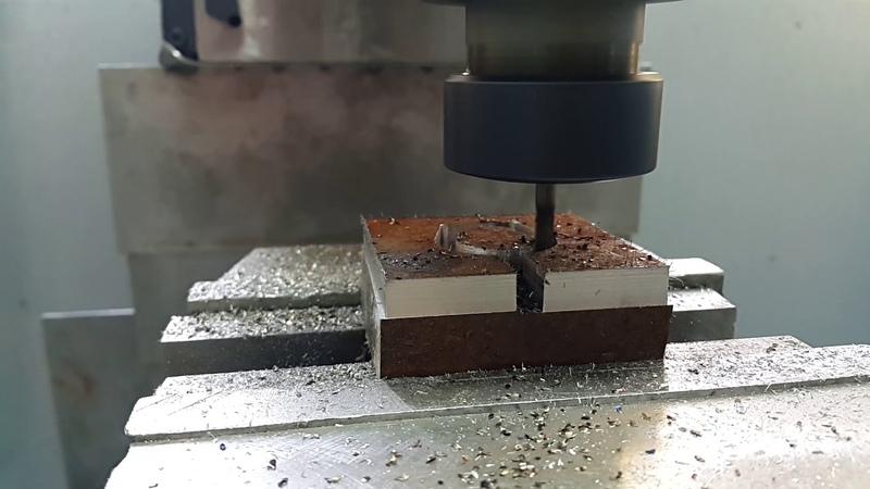DIY cnc milling machine. Heavy metal milling.