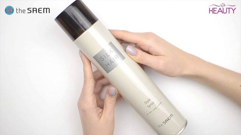 Лак для волос The Saem Silk Hair Style Spray