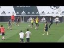 El Real Madrid regresó al trabajo con una intensa sesión
