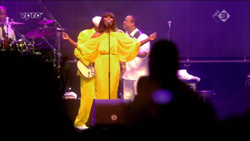 Nile Rodgers Chic - I'm Coming Out / Upside Down (Lowlands Festival 2018 - 2018-08-18)