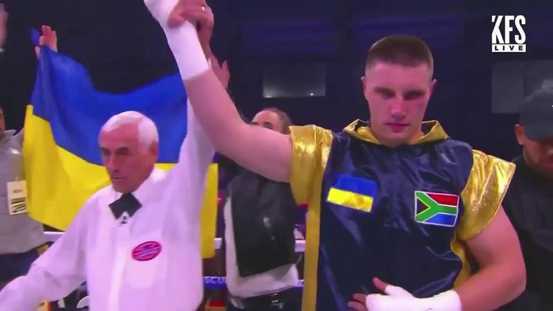 Супертяж Влад Сиренко нокаутировал Дидье в первом раунде