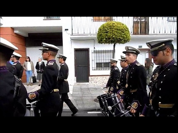 Banda CCTT Los Moraos ALHAURIN de la TORRE Domingo de Ramos 2018 La Pollinica 25 03
