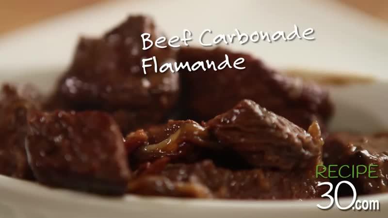 Любителей пива и говядины, говядина для тебя Карбонад Flamande (медленного приготовления ) - по рецептам.МР4