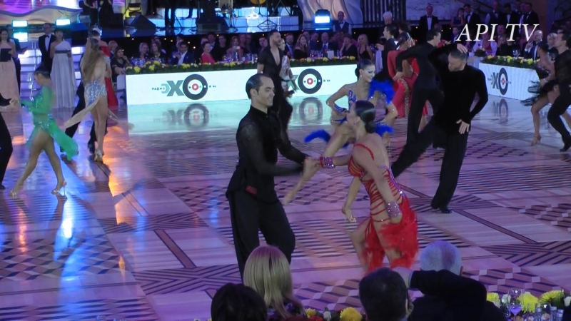 Роман Ковган Дарья Палей Джайв API TV DANCE STARS