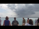 Behind an Airplane Takeoff St Maarten Airport Maho Beach Footage at Princess Juliana Airport