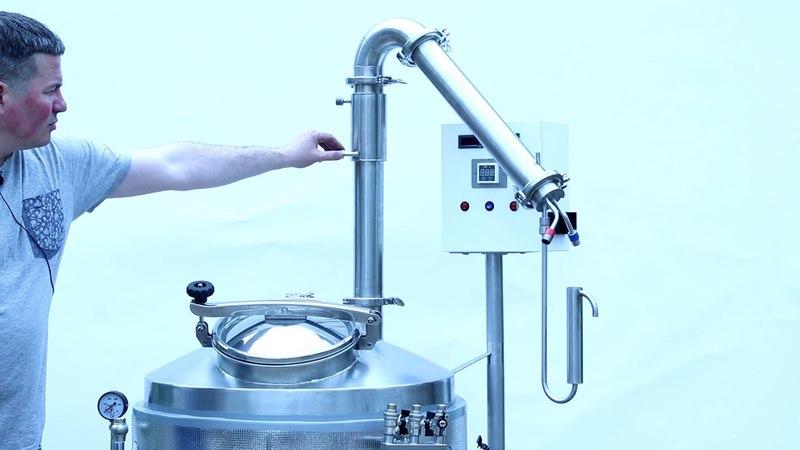 Модульный набор для дистилляции и ректификации