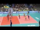 12.09.2018. 20:25 - Волейбол. Чемпионат мира. Мужчины. 1 тур. Группа В . Бразилия - Египет