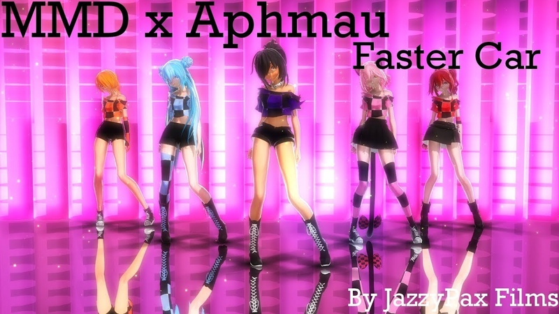 【MMD x Aphmau】Faster Car (My Entry For Rsainbow's Contest)