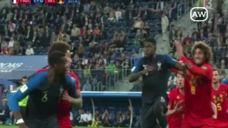 Francia 1 0 Bélgica Semifinal Mundial Rusia 2018