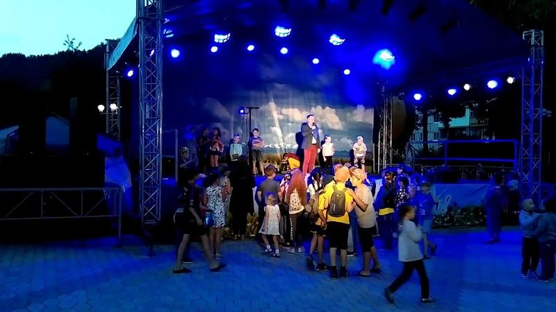 Импровизация на сцене Площадь ДК Энергетик