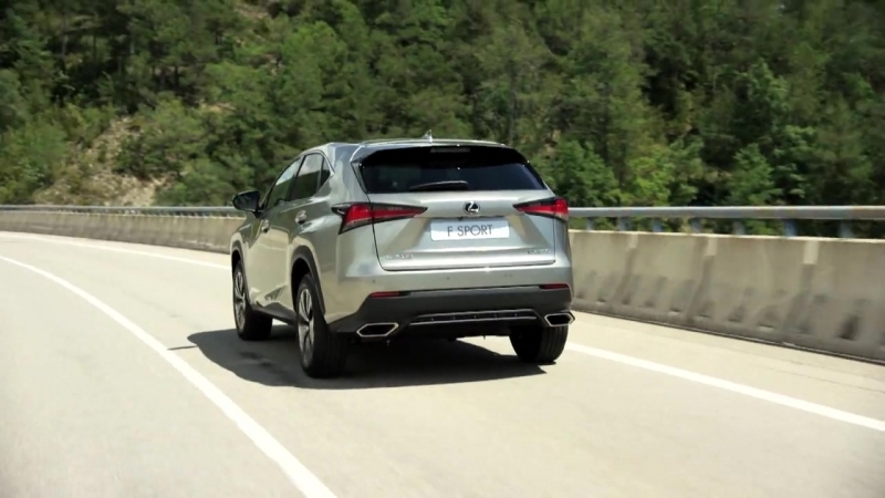 Обновленный Lexus NX. Захватывающее управление.