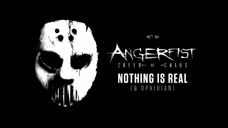 Angerfist Ophidian - Nothing Is Real [Synthapella with Lyrics]