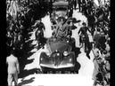Visita di Mussolini a Trento.