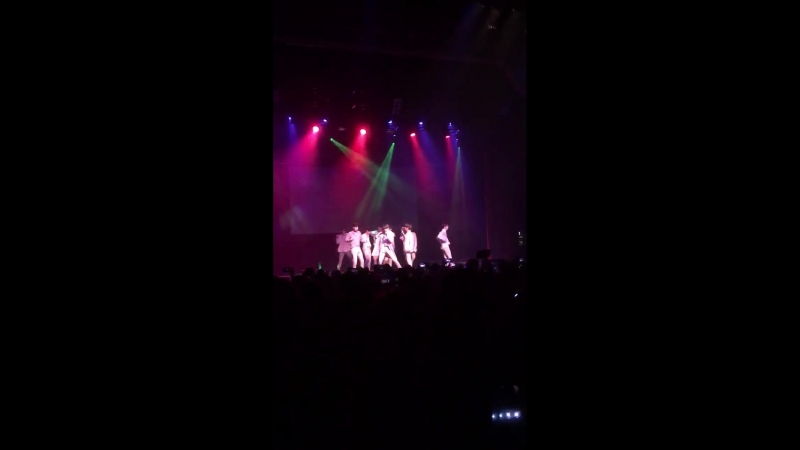 180617 UP10TION - SO DANGEROUS️️️ @ концерт в рамках тура 1st US Meet Live Tour 'CANDYLAND' @ Чикаго