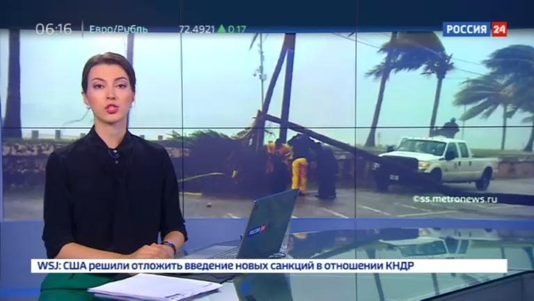 Новости на Россия 24 • В штате Северная Каролина два человека погибли из-за шторма