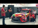 This is how you do a Skittles Darlington NASCAR Throwback scheme