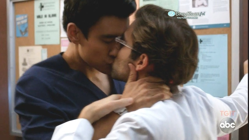 Greys Anatomy 15x06 Intern Schmitt and Dr Nico Kiss - I Thought This Is a Teaching Hospital