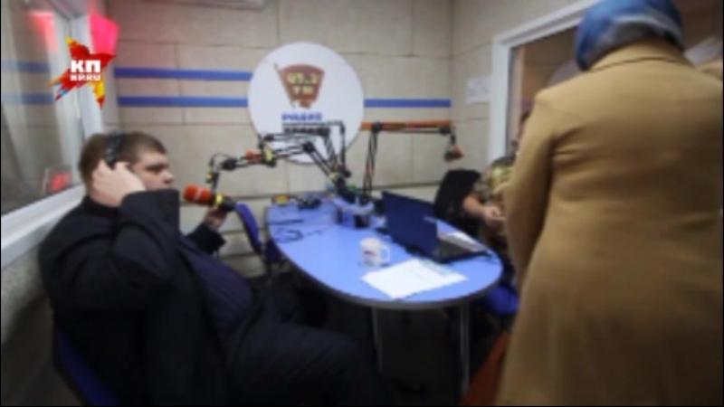 Неадекватная челябинка напала на ведущего в эфире радио Комсомольская правда