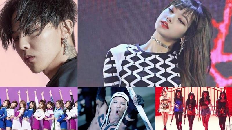 Blackpink Lisa dancing to Big Bang G-Dragon Taeyang Twice Red Velvet