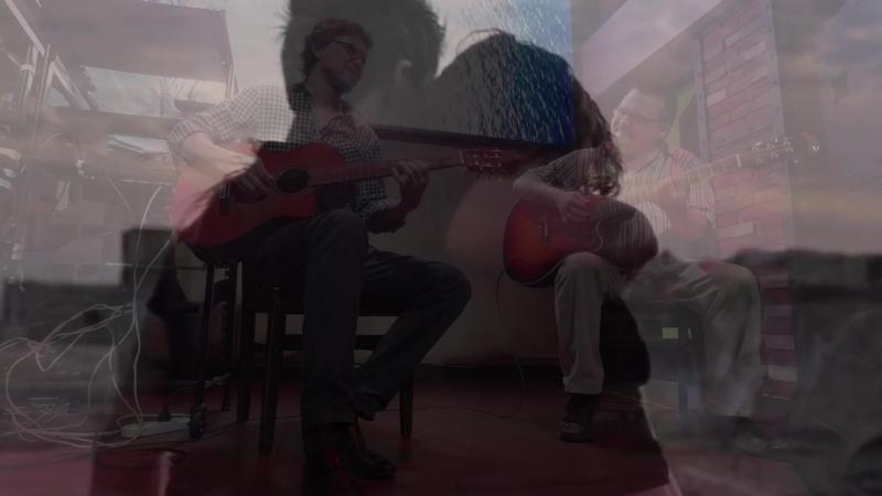 Видеозарисовка с концерта гитарного дуэта Вячеслава Смирнова и Антона Касьяненко в Национальной пивной ресторации Пивоваръ -