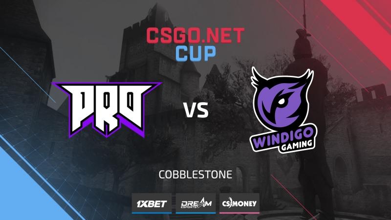 Pro100 vs Windigo de cbble Cup 1