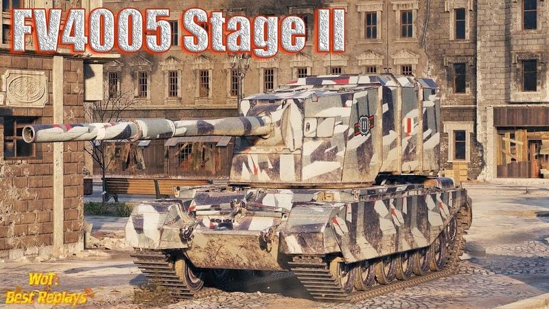 FV4005 Stage II БАБАХнул на Химках 1vs5
