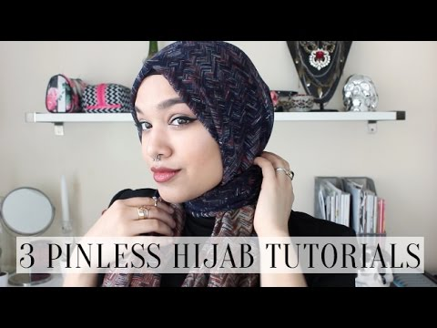 3 Pinless Hijab Tutorials PLUS TOUR INFO!