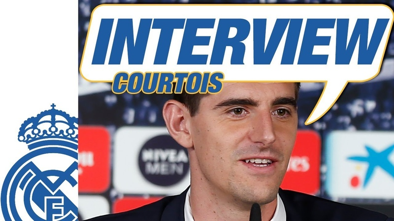 Exclusive Interview | THIBAUT COURTOIS | NEW Real Madrid Player