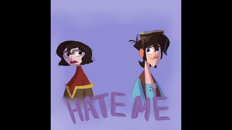 Hate Me Tangled AU