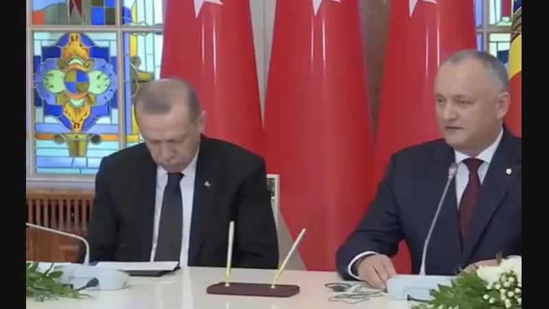 Президент Турции Реджеп Тайип Эрдоган уснул на пресс-конференции Азербайджан Azerbaijan Azerbaycan БАКУ BAKU BAKI Карабах 2018