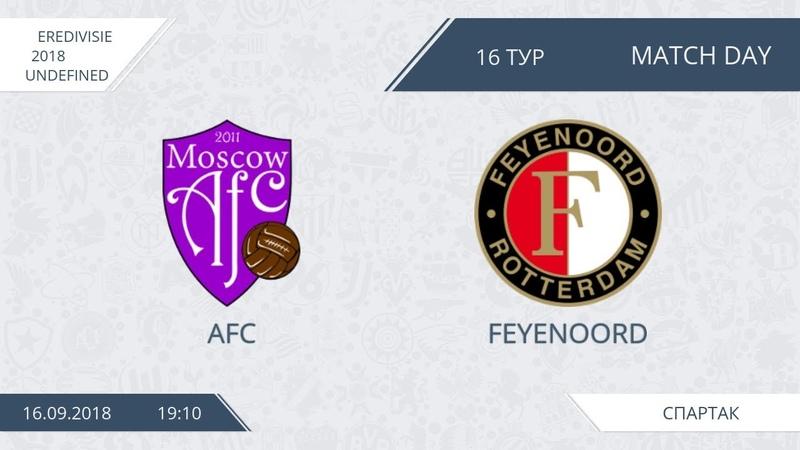 AFL 18. Eredivisie 2018. Day 16. AFC - Feyenoord.