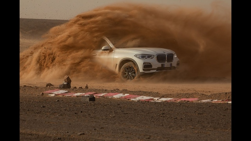 BMW moves the iconic Monza track into the Sahara to test the new X5