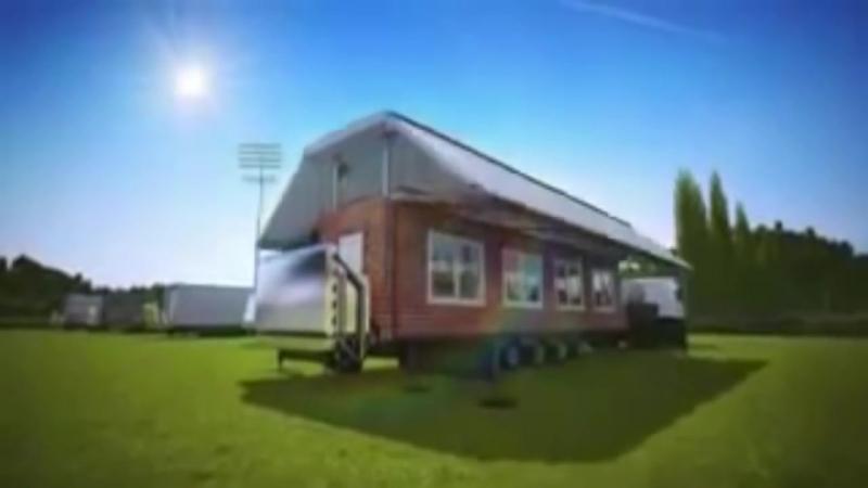 Футуристические проекты дом на колесах