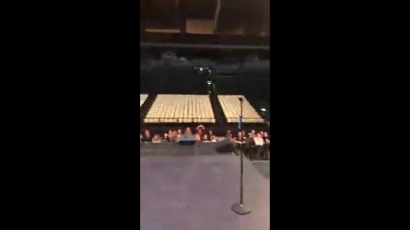 Jared Leto | Live no soundcheck em Bologna (17-03-2018)