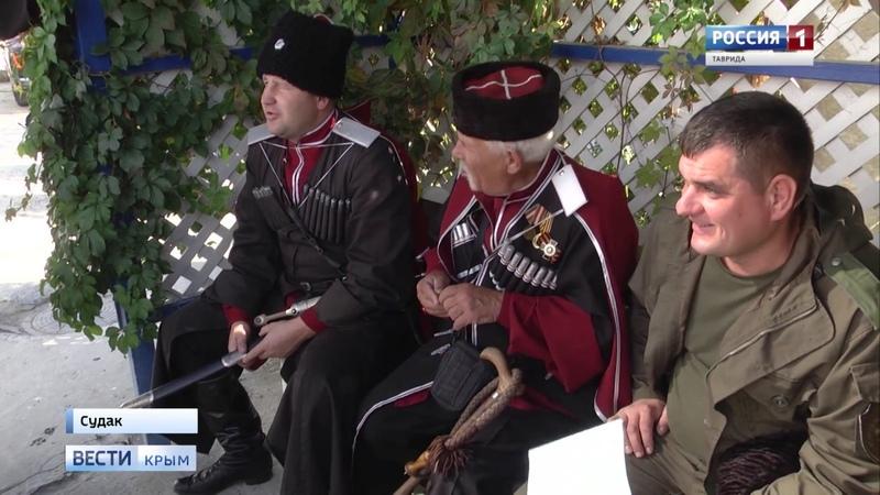 В Судаке прошла церемония посвящения в казаки
