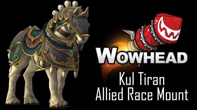 Kul Tiran Allied Race Mount